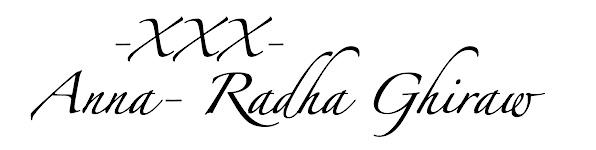 Anna- Radha Ghiraw